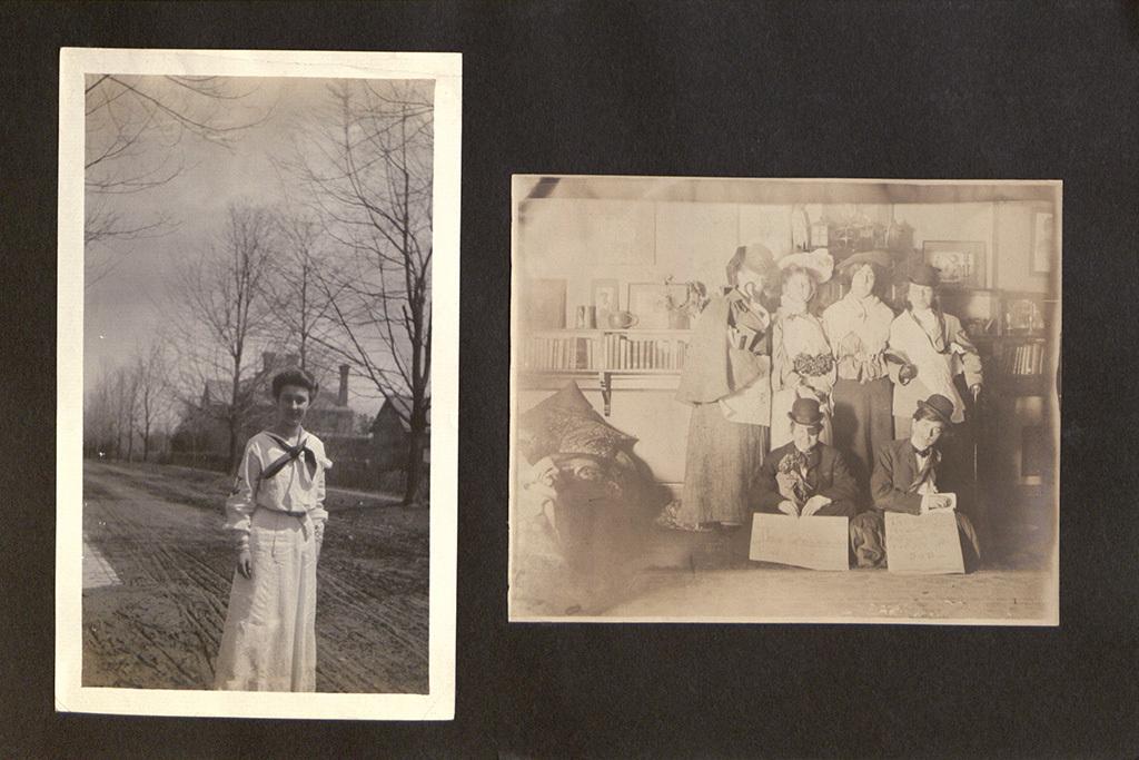 Photo Album of Frances Passmore Lowe, Class of 1908, Page 44