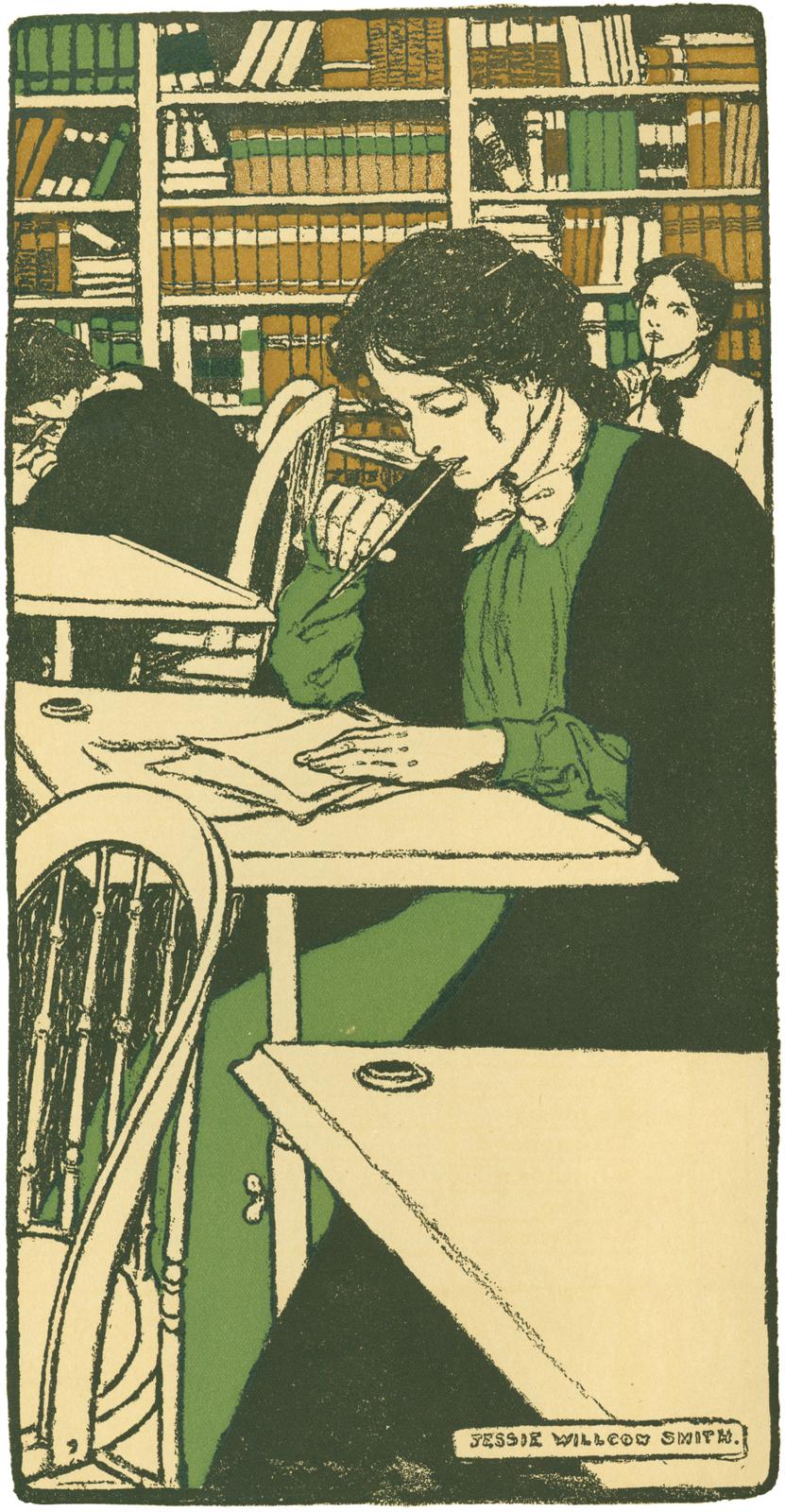 1902 Bryn Mawr College Calendar image