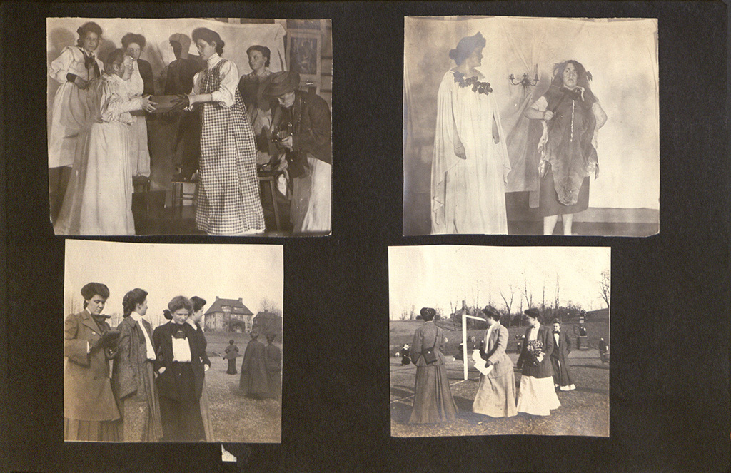 Photo Album of Frances Passmore Lowe, Class of 1908, Page 15
