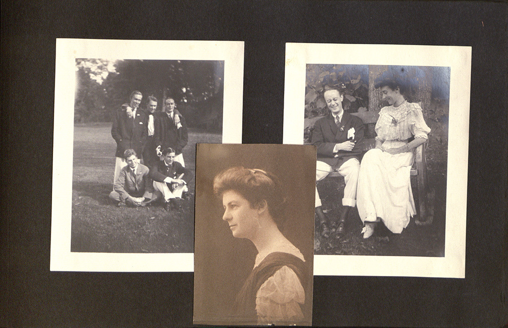 Photo Album of Frances Passmore Lowe, Class of 1908, Page 88