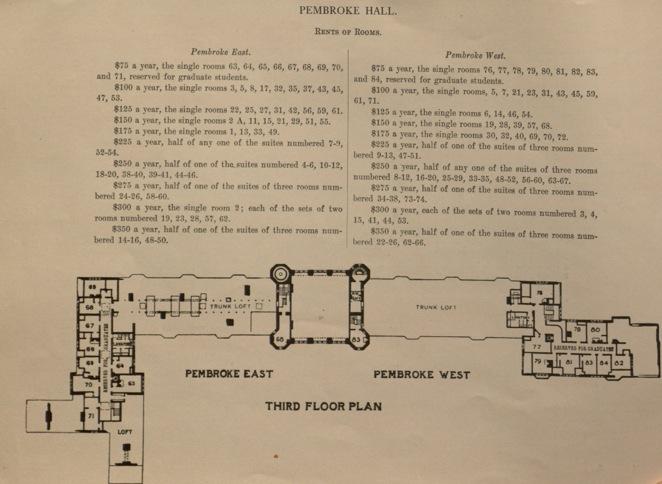 Pembroke Hall Floor Plan