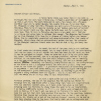 Letter to Robert Elliott Speer and Emma Bailey Speer, 5 June 1932