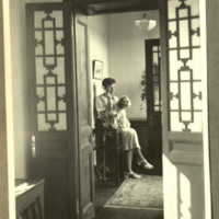 Margaret Bailey Speer on Telephone<br />