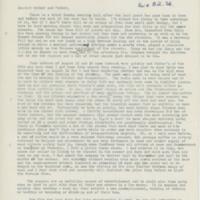 Letter to Robert Elliott Speer and Emma Bailey Speer, 24 September 1939