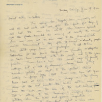Letter to Robert Elliott Speer and Emma Bailey Speer, 19 June 1932