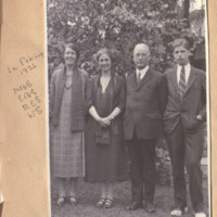 Speer Family in Peking