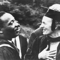Martin Luther King, Jr., and Katharine Elizabeth McBride