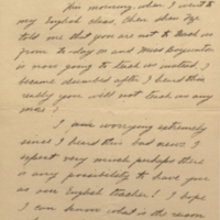 Letter to Margaret Bailey Speer, 21 February 1927